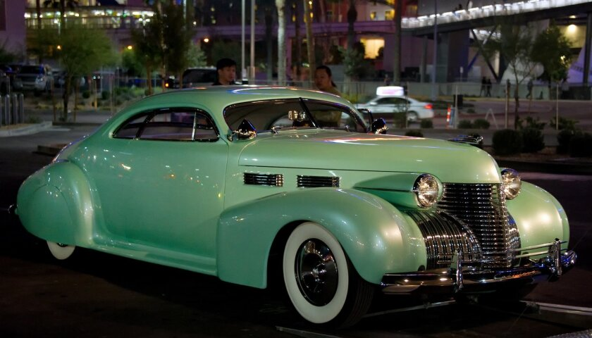 Dagostino Kustoms Sophia - 1940 Cadillac at SEMA Ignited
