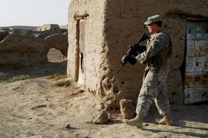 """Un soldado de la coalición internacional liderada por Estados Unidos que combate contra el yihadismo en el marco de la operación """"Inherent Resolve"""" murió este domingo por causas no relacionadas con una acción de combate, según informaron hoy fuentes del Departamento de Defensa. EFE/Archivo"""