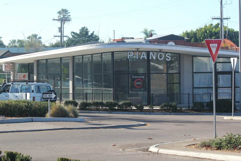 Longtime Bird Rock business Schroeder Piano Company left this space at La Jolla Boulevard and Bird Rock Avenue last week.