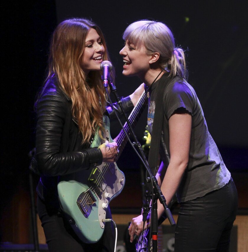Sisters Rebecca and Megan Lovell of Larkin Poe will perform as part of September's annual AimLoan.com San Diego Blues Festival.