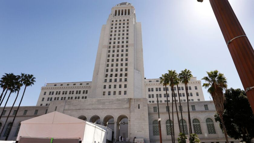 A real estate developer faces a fine over campaign donations given to Councilman Mitch O'Farrell. To make it clearer where political donations are coming from, Los Angeles city officials have considered demanding more information from businesses and other groups.