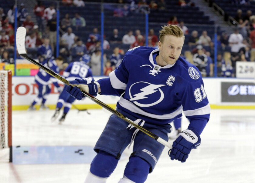 Trade deadline conjecture lessens with Tampa Bay Lightning's Steven Stamkos off the market