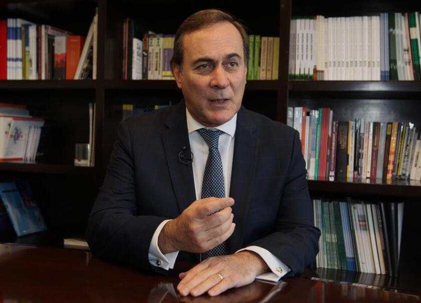 El presidente del Consejo Coordinador Empresarial (CCE), Juan Pablo Castañón. EFE/Archivo