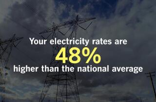 Californians, do you feel like you pay a lot for your power?