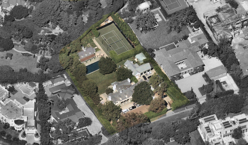 Ross Perot Jr.'s Bel-Air estate