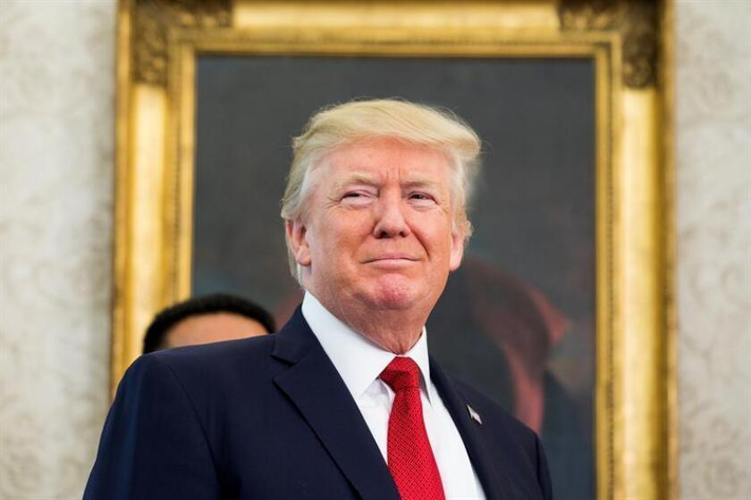 """El presidente, Donald Trump, está evaluando volver a incluir a Corea del Norte entre los países considerados """"patrocinadores del terrorismo"""" y habrá noticias al respecto """"pronto"""", según dijo hoy el principal asesor de Seguridad Nacional de la Casa Blanca, H.R. McMaster. EFE/EPA/ARCHIVO"""