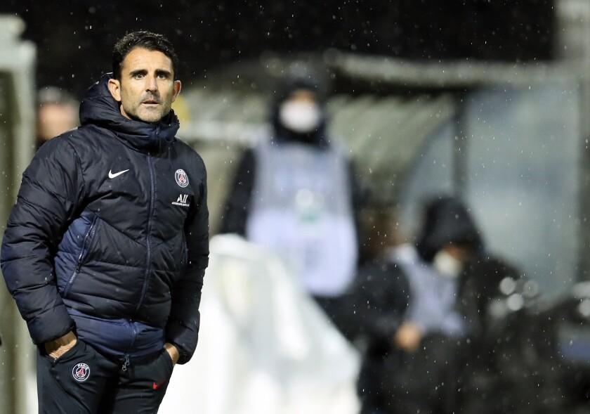 El asistente del PSG Jesús Pérez