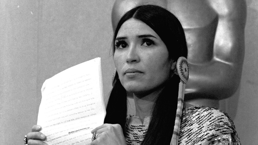 Sacheen Littlefeather