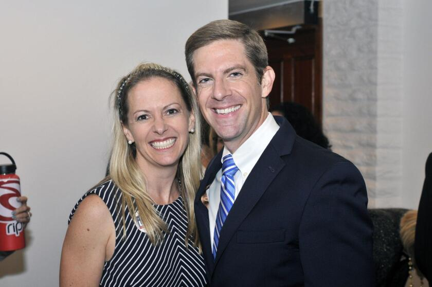Congressional candidate Mike Levin and wife Chrissy