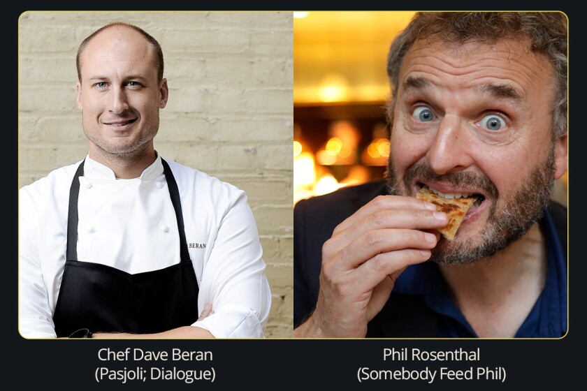 Dave Beran and Phil Rosenthal