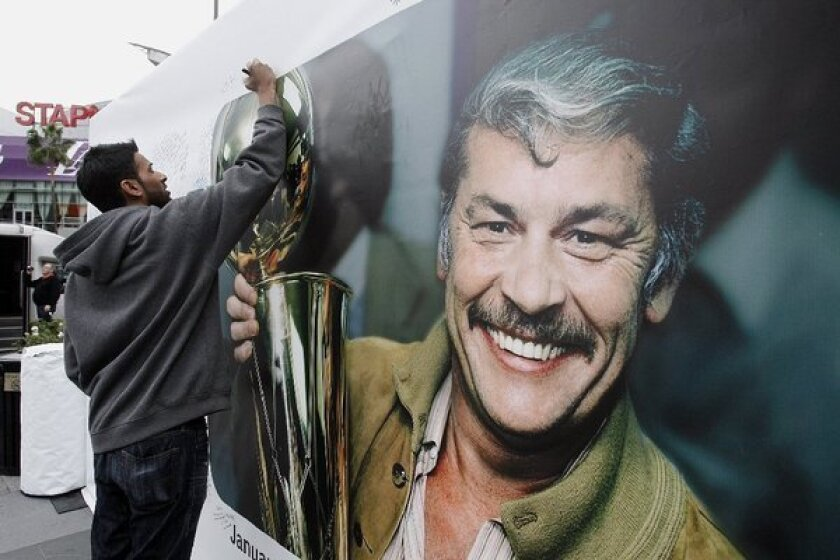 How Jerry Buss helped keep the Jazz in Utah