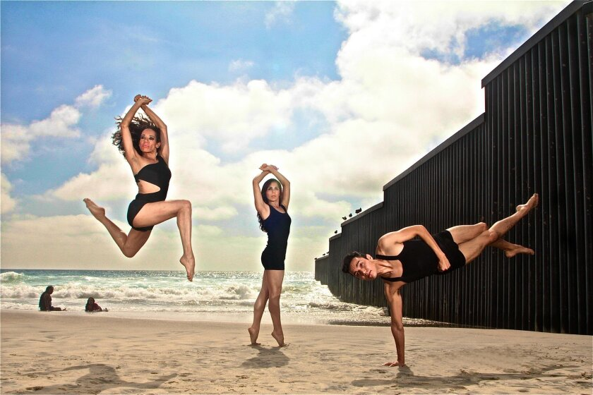Tijuana's Minerva Tapia Dance Group performs April 27 as the finale at the Live Arts Fest.