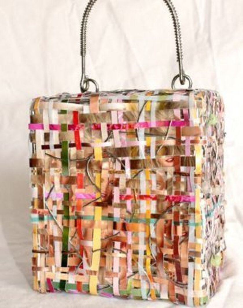 'Nancy's Purse' by Claudia Cano, photography and found objects