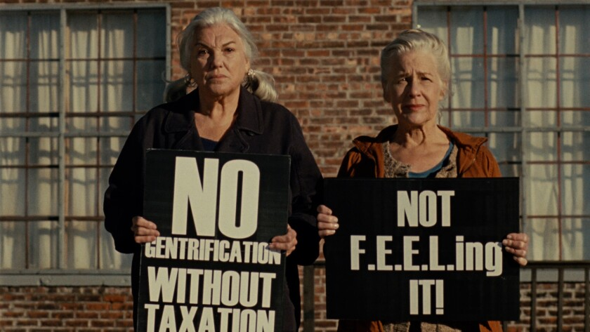 "Tyne Daly, left, and Elisabeth Henry in the movie ""A Bread Factory, Part One."""