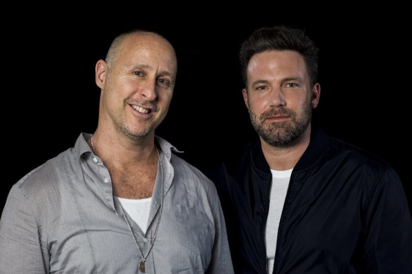 Gavin O'Connor and Ben Affleck