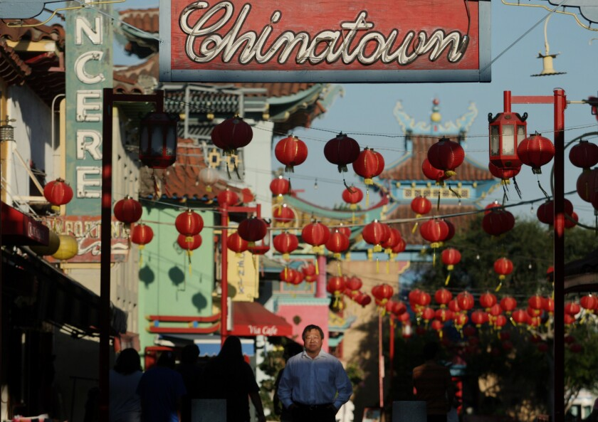 Los Angeles' Chinatown neighborhood is quickly becoming a revived culinary destination sparked by cheap rents and an art gallery boom.