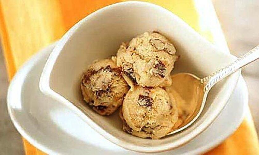 THE SCOOP: Prune-Armagnac ice cream has intense flavor.
