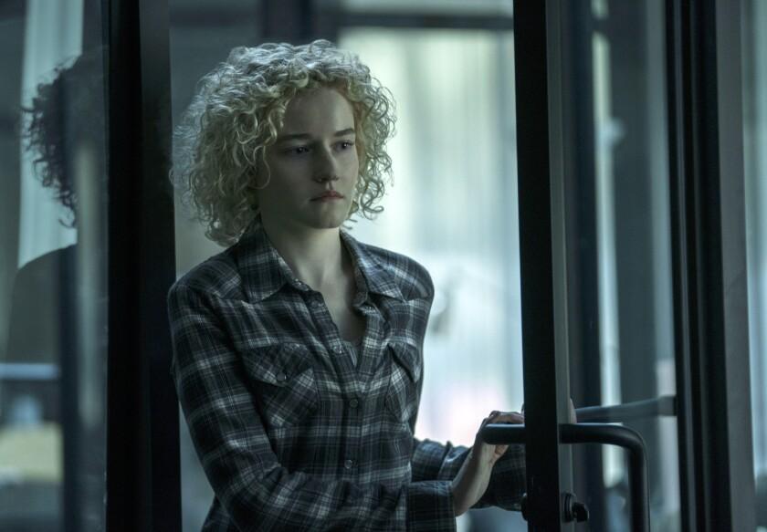 "Julia Garner in Netflix drama ""Ozark."""