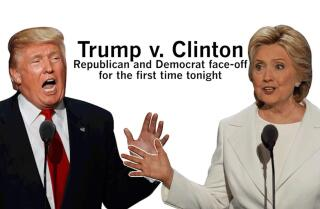 Trump vs. Clinton: What to expect in first presidential debate