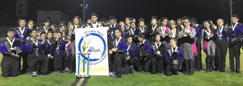 The Hoover High Tornado Marching Band on Nov. 21 became the California State Band Champion for the first time.