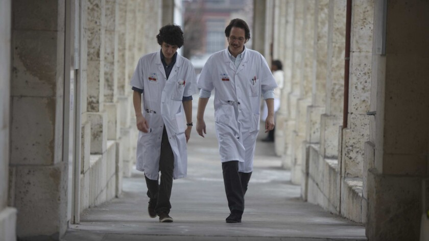 """A still from the film """"Hippocrates: Diary of a French Doctor."""""""