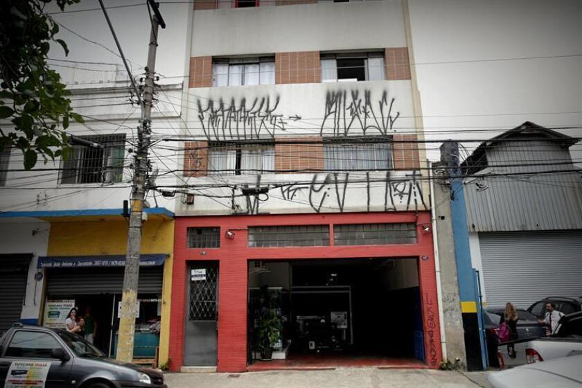 An exterior view on Dec. 7, 2018, of the Sao Paulo residence where Spanish fugitive terrorist Carlos Garcia Julia lived in that Brazilian metropolis before his arrest on Dec. 5. EPA-EFE/Fernando Bizerra