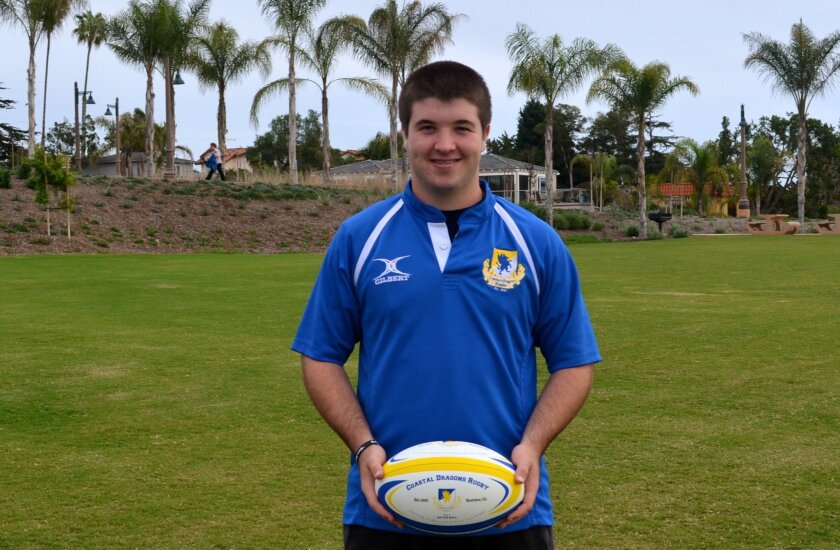 Rugby player Owen Duvall has succeeded on and off the field.