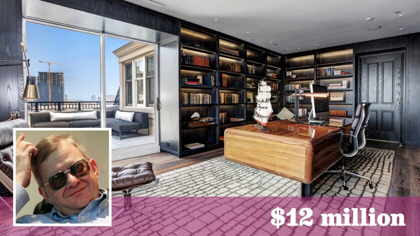 The 12,000-square-foot penthouse, once home to late author Tom Clancy is among the most expensive listings in Baltimore.