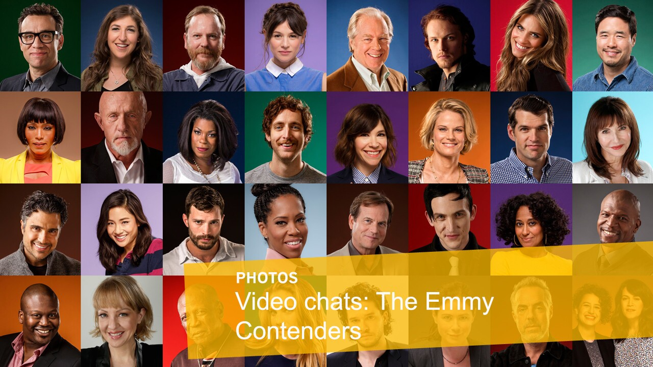 Emmy Contenders Live Chats 2015 by The Times