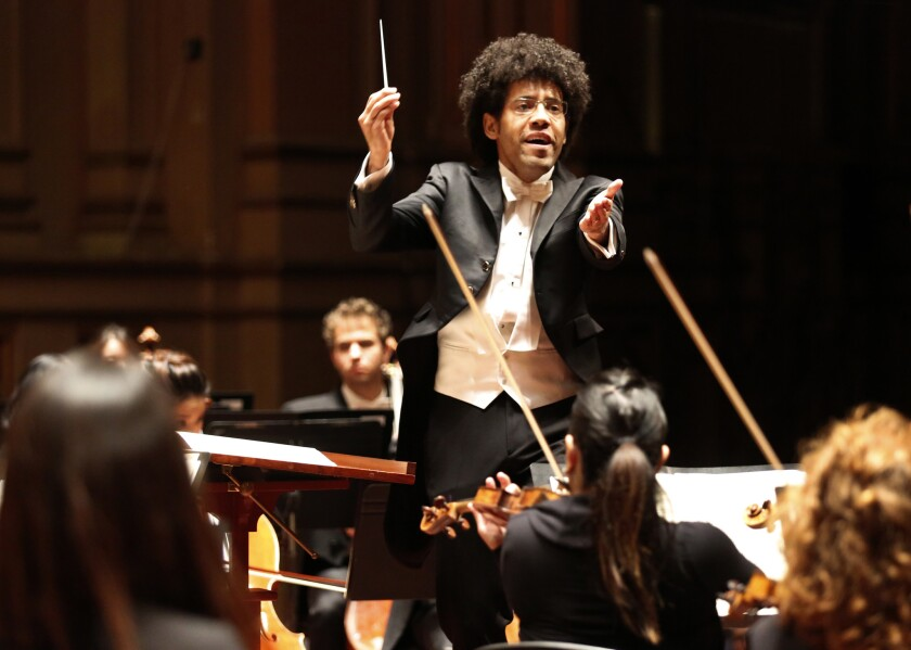 Rafael Payare conducts the San Diego Symphony
