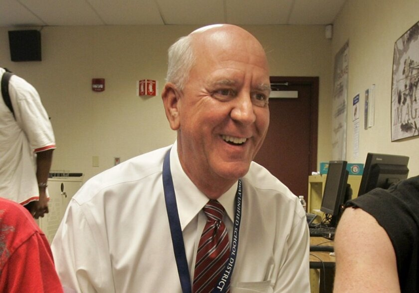 File Photo of former Poway Superintendent John Collins