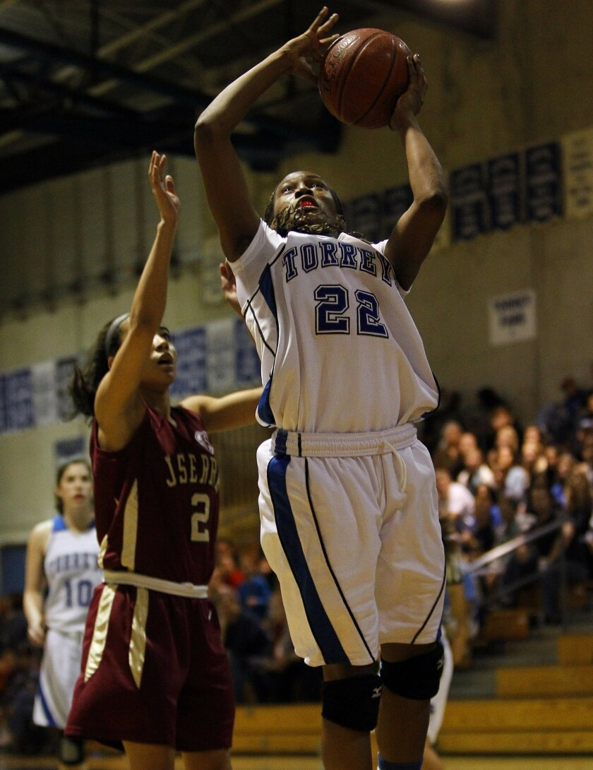 Maya Hood helped La Jolla Country Day reach the Southern California Regional Division IV championship game in March.