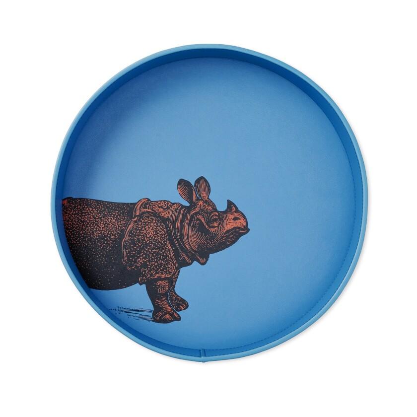 Smythson's Bond Animal Rhino Key Tray. Credit: Smythson