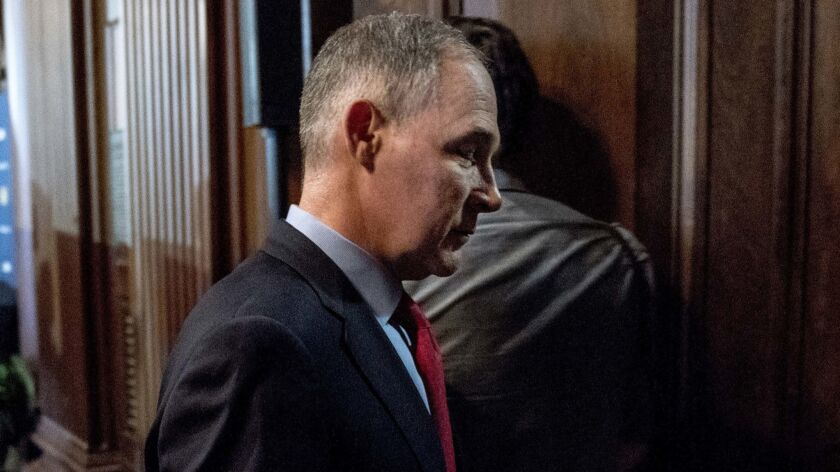 EPA Administrator Scott Pruitt has energetically pursued the administration's deregulation agenda, but ethical lapses have endangered his tenure.