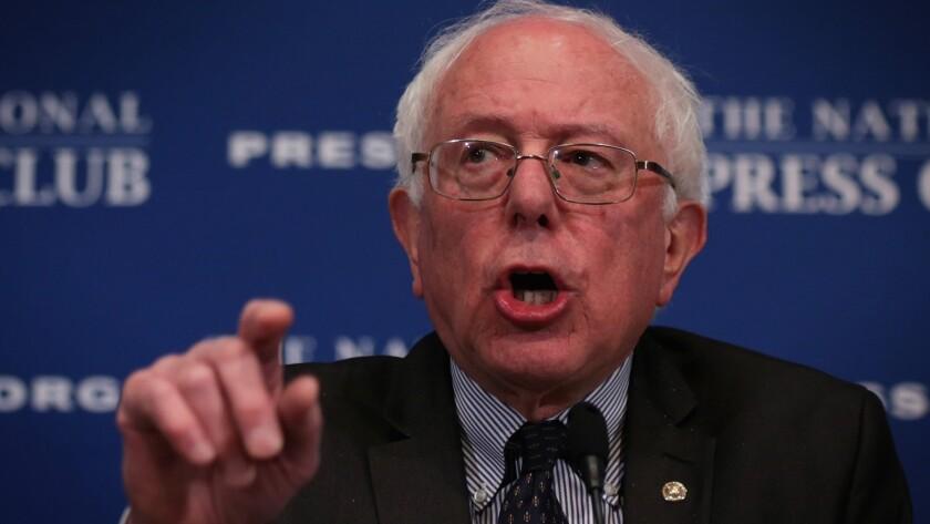 U.S. Sen. Bernie Sanders plans to challenge Hillary Rodham Clinton for the Democratic nomination.