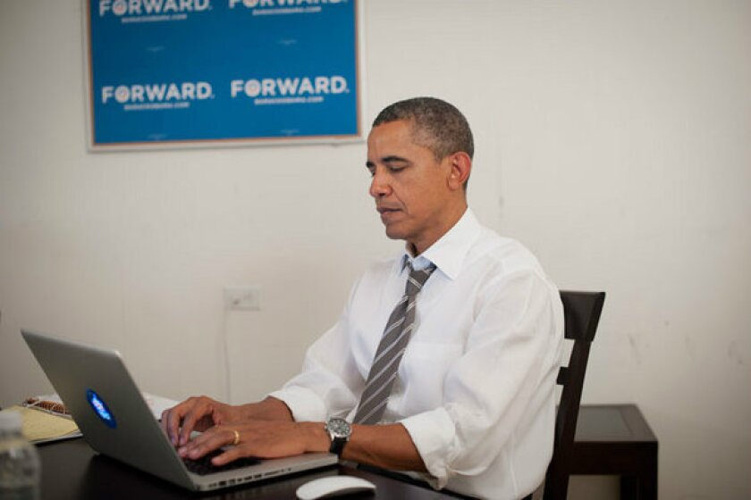 President Obama uses Reddit in August for a question-and-answer session as part of his campaign.