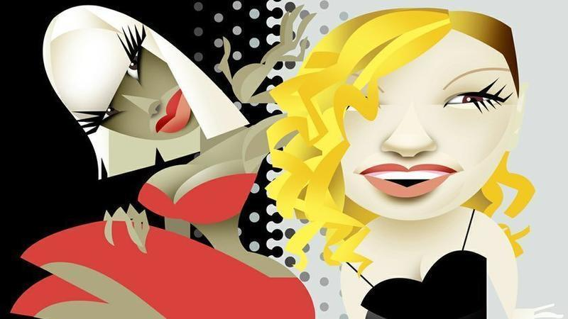 Nicki Minaj and Kelly Clarkson both have performances in San Diego this week. (/ Illustration by Amy Ning.)