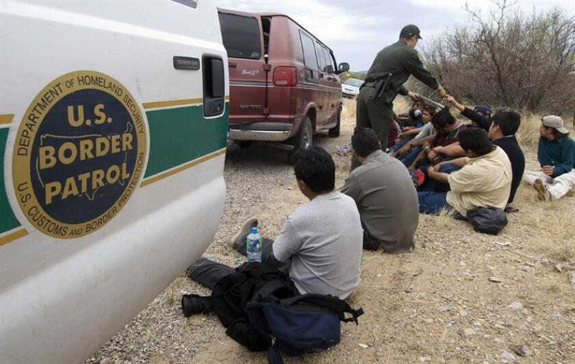 El Pentágono está acondicionando dos bases militares para dar acogida a inmigrantes, informaron hoy medios de comunicación, que citaron al secretario de Defensa, James Mattis. EFE/EPA/Archivo