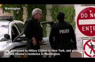 Potential explosive devices sent to Obama and Hillary Clinton