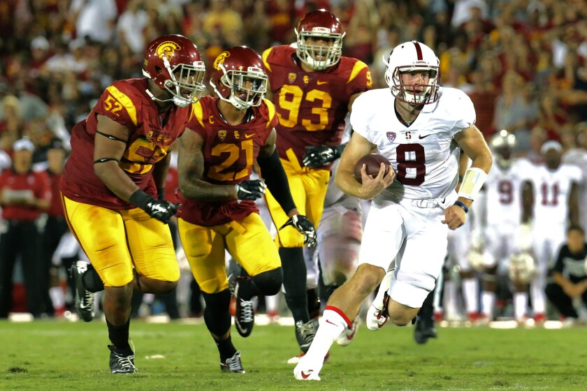 Rematches are tricky, but USC is confident ahead of Pac-12 title game with Stanford