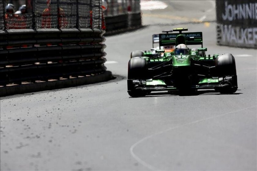 El piloto mexicano de la escudería Sauber de Fórmula Uno, Esteban Gutiérrez. EFE/Archivo