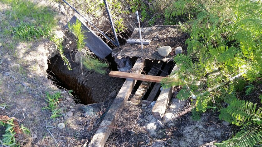 Guy Lawyer sent this photo to the city on Nov. 24, as part of an unsuccessful effort to get officials to fix his community's storm drain before El Niño battered San Diego. His case was given service order #15-718987.