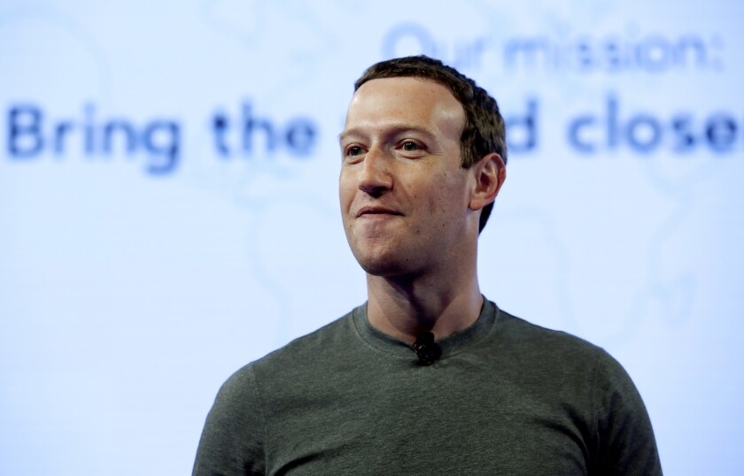 """""""Those companies are trying to build social networks and replace us,"""" Facebook Chief Executiv Mark Zuckerberg said in a 2013 message justifying blocking competitors from some Facebook services."""