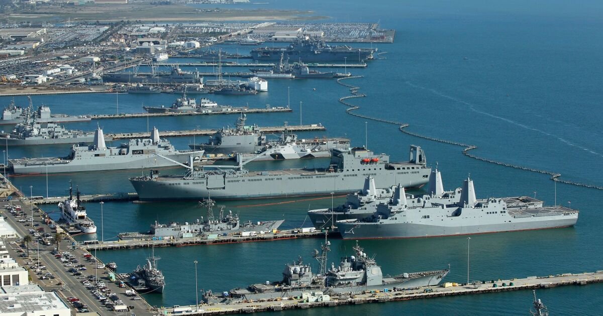 Σαν Ντιέγκο, Ναυτικό βάσεις ξεκινήσει νέα διαλογής και αποχέτευσης μέτρα πάνω από coronavirus