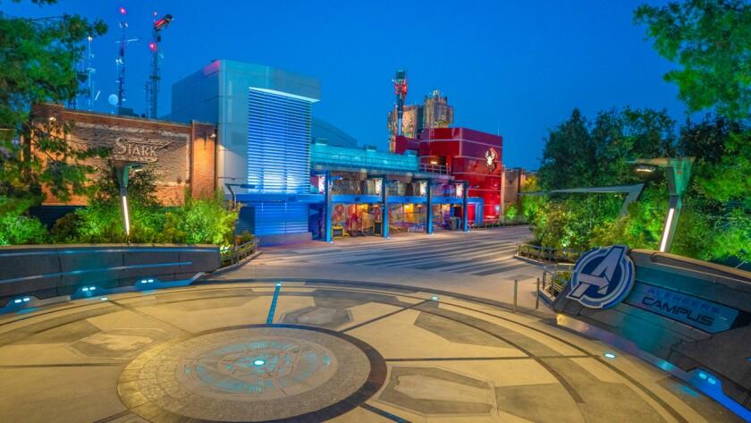 Qué medidas tomar para ingresar al Avengers Campus de Disney California Adventure - Los Angeles Times