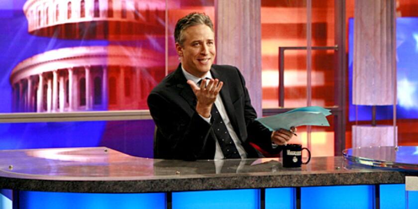 IN THE LOOP: Hulu now streams Jon Stewart's show.