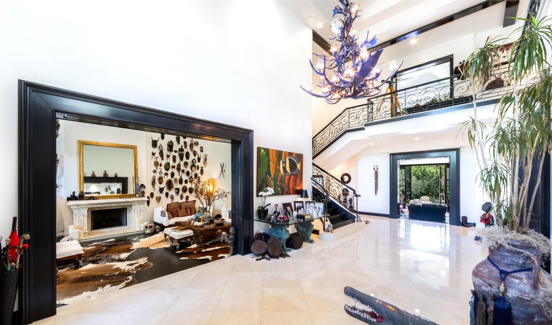 Donald Pliner's Bel-Air mansion