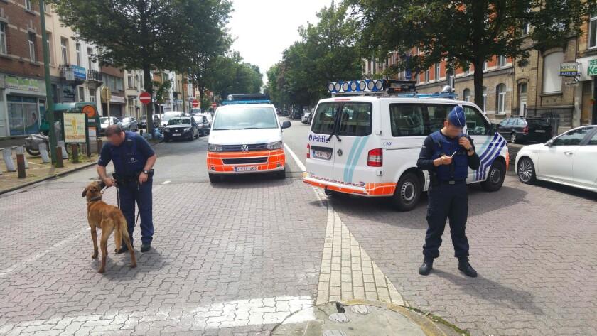 Belgium raids