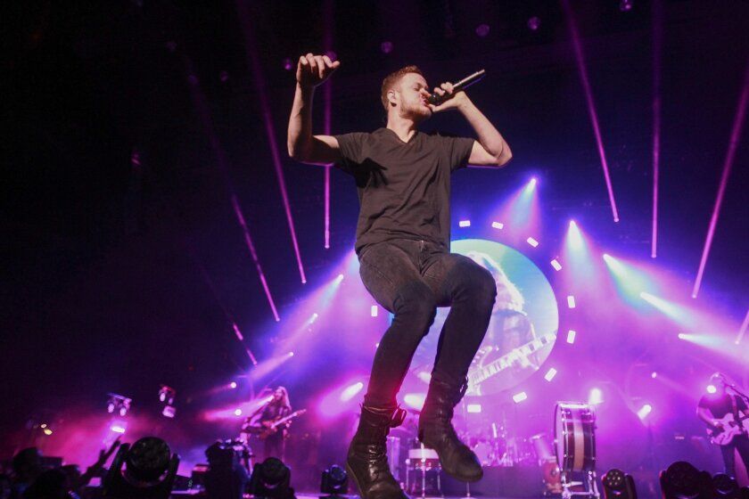 Imagine Dragons rocks out in San Diego - The San Diego Union-Tribune