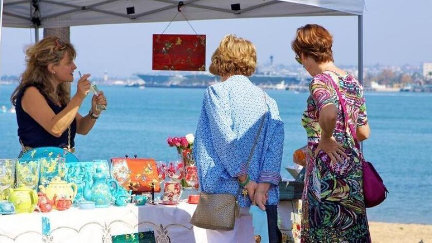 The 2016 Coronado Art Walk is here and taking over the Coronado Ferry Landing for a two-day festival, featuring a variety of unique artwork. The walk will allow eventgoers to marvel at and purchase handcrafted jewelry, photography, ceramics, woodworks, painting and more. Enjoy restaurants, shops and galleries in the surrounding area as well as live musical entertainment both days. - Liz Bowen, DSD 10 a.m. to 5 p.m. Saturday and Sunday. Coronado Ferry Landing, 1201 First St., Coronado. Free to attend. coronadoartwalk.com